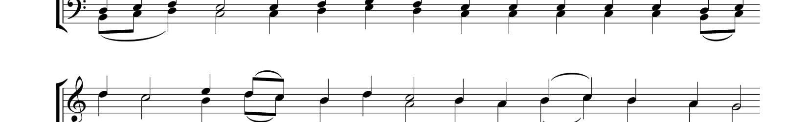 Ирмосы второго канона на Пятидесятницу (музыка С. Трубачева, переложение и. А.)
