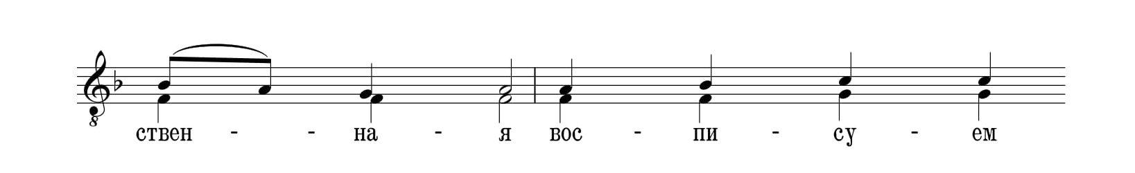 Кратко Возбранной Воеводе (глас 8, А.Т.)