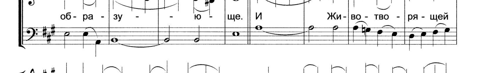 Херувимская песнь М.Виноградова