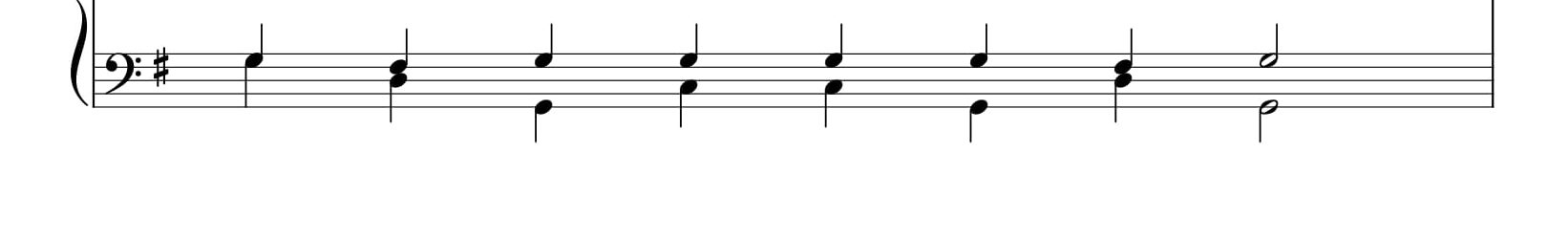 Бог Господь, 8 глас, валаамский распев